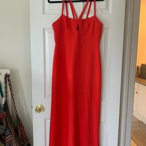 BCBG Red/Orange Dress